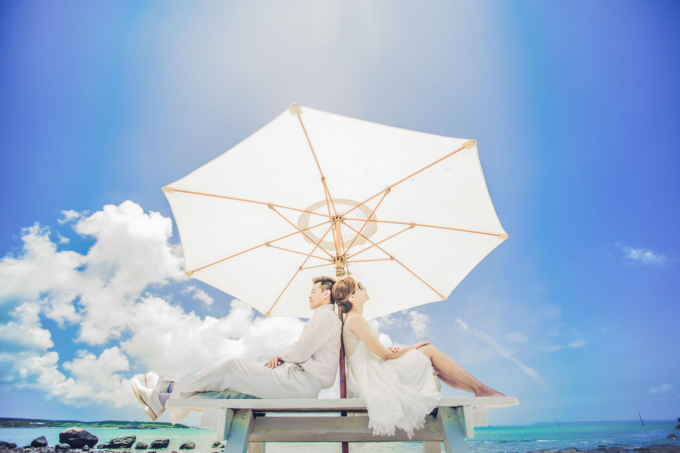 晴傘下約定的愛情
