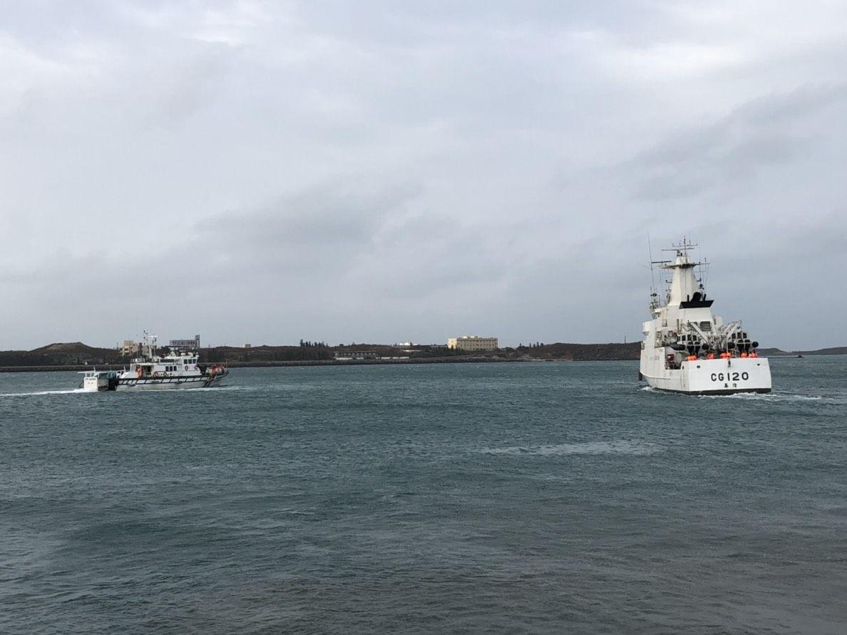 澎湖艦、台南艦將繼續戍守重點海域。