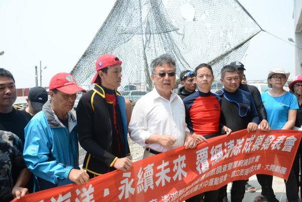 賴縣長宣示今年打撈6萬公尺