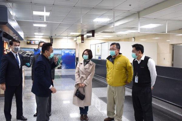 賴縣長呼籲海空港國內線裝設體溫儀