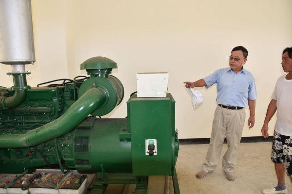 賴峰偉要求5離島明年底完成電錶設置