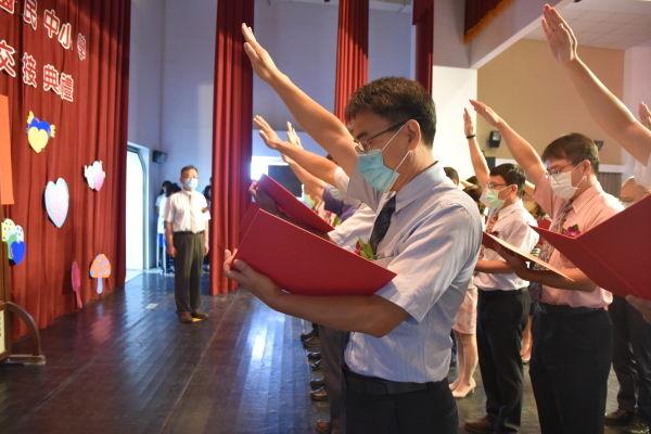 110學年度國民中小學新卸任校長布達交接