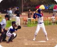 "Jiangmei Elementary School participated and won the gold prize of the ""Hong Kong 2005 junior baseball invitational tournament"""